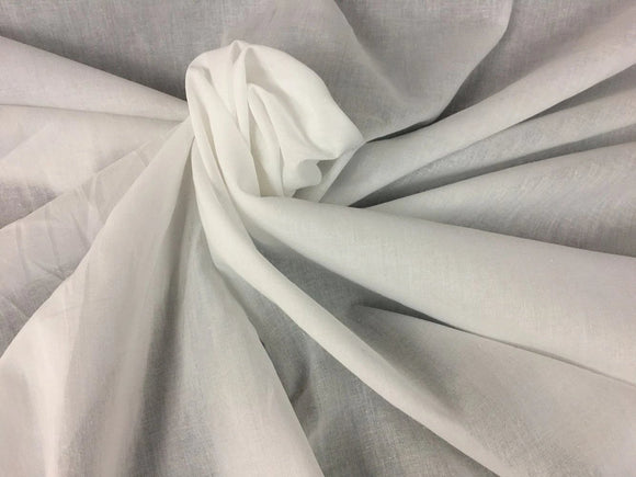 Lawn Cotton Fabric, Plain Soft Cotton Fabric, 58
