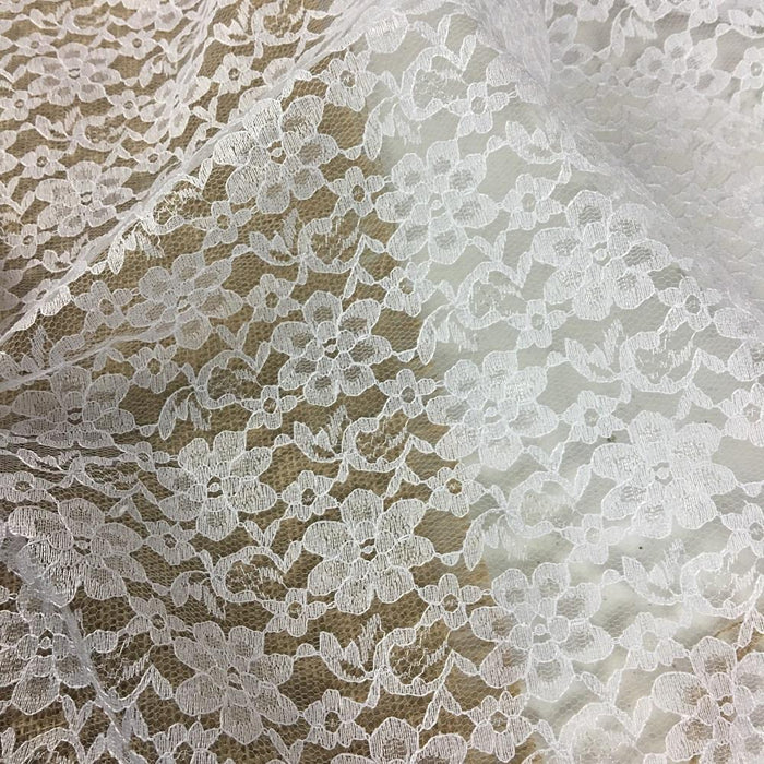 "Raschel Lace Fabric Allover Floral Design, 60"" Wide, Choose Color, Multi-Use Garments Costumes Curtains DIY Sewing tablecloth Overlay Backdrop Decoration"