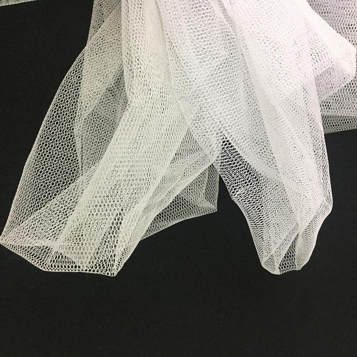 "Petticoat Hard Net Fabric Tulle Mesh Can-Can Net Wrap-Around Mesh Not Very Stiff, 56"" Wide, Choose Color, Multi-Use Petticoat Tutus Garments Dance Costumes"