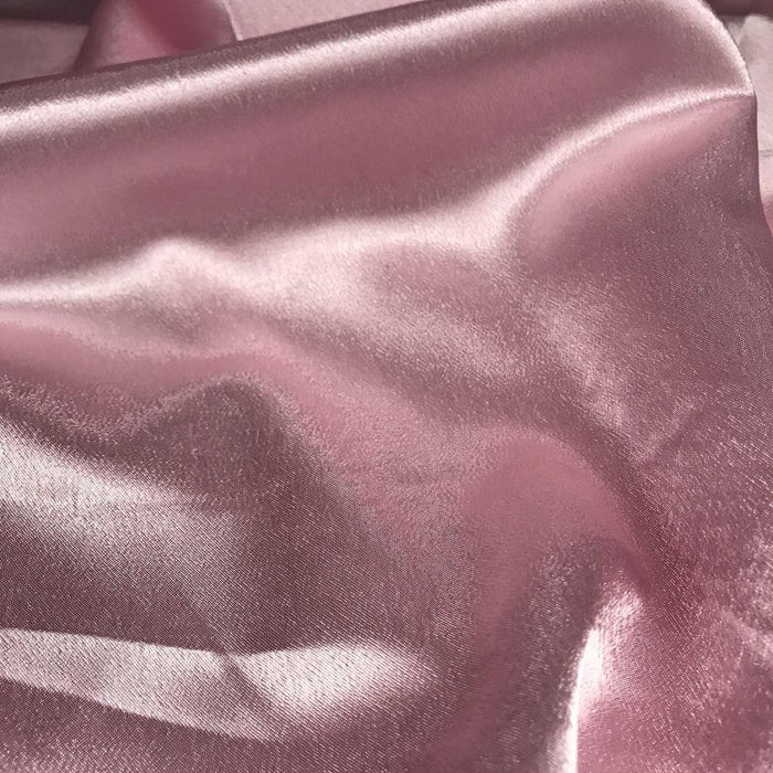 "Crepe Back Satin, Shiny Satin on one side, Textured Crepe on the back, 60"" Wide, Choose Color, for Garment Backdrop Table Cover Overlay"