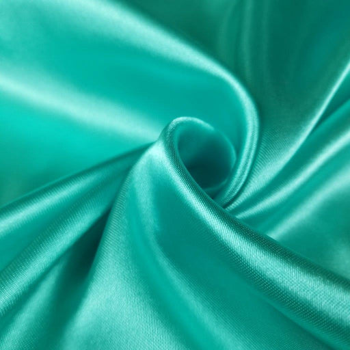 "Medium Satin Fabric Shiny Drapy, 60"" Wide, Choose Color, for Bridal Garment Dance & Theater Costume Backdrop Table Cover Overlay DIY Sewing"