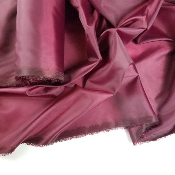 "Lining Fabric 100% Polyester Soft Silky Taffeta Basic, 60"" Wide, Choose Color, for Garments Apparel Drapery Backdrop Table Cover Decoration"