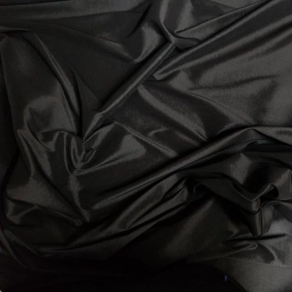 Stretch Taffeta Fabric Lustrous 2-Way Stretch, not 4-way, 58