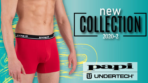 Papi, Undertech and Rico Brand New 2020-2 Collection Just In!