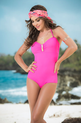 Mapale One Piece Swimsuit Pink