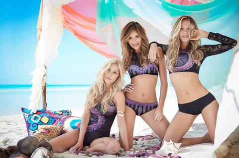 DownUnder Apparel's swimwear is amongst the finest of beach and pool accessories found in the world.  We take pride in the vast array of styles available in this collection year round to keep you looking your most fabulous anywhere you go!