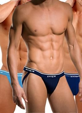 More Is More When You Grab a Multi-Pack! Multi Pack boxers, tanks, tees, thongs, briefs and jockstraps are a great way to add new fashions to your wardrobe for a great value!