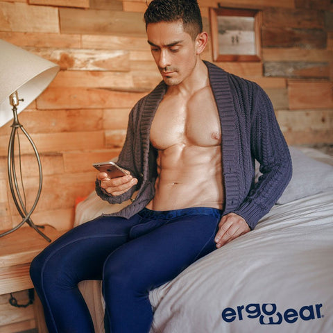 Long Johns are a much needed item in every man's wardrobe.  We can always use more support, coverage and warmth all year round when we lounge or even when we workout...