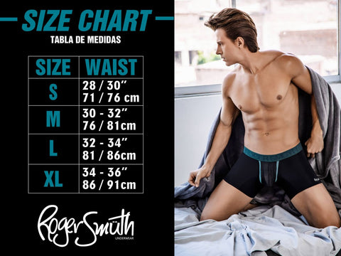 Roger Smuth is decadent brand of men's underwear that crosses filth and fashion in a way it has never been done before! Roger Smuth Size Chart.