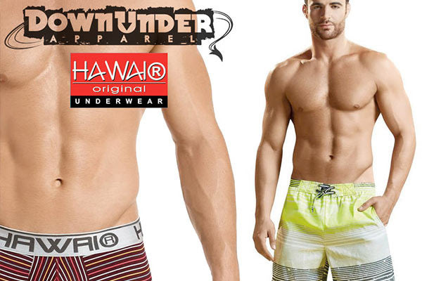 Hawai Men's Boxers, Briefs, Pouch supporting athletic underwear