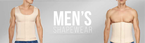 TrueShapers high compression contouring shapewear for men is designed for everyday use, athletic wear, post surgery, and body shaping uses. Styles include body shaping apparel, waistbands, waist cinchers, belts and control products.