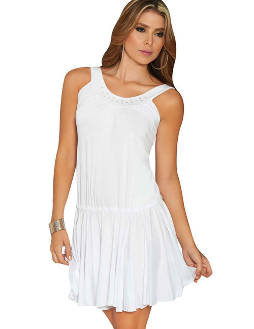 AM PM 4800 Dress Color White