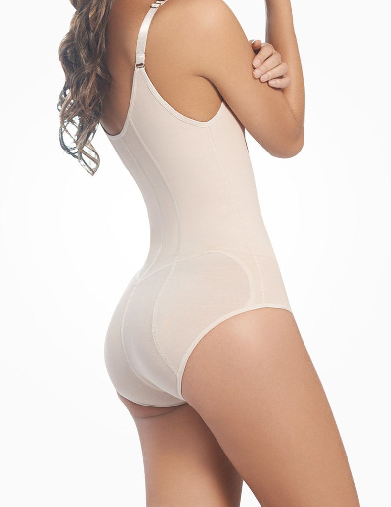 Ann Chery 1042 Powernet Body Shaper Kelly Color Beige