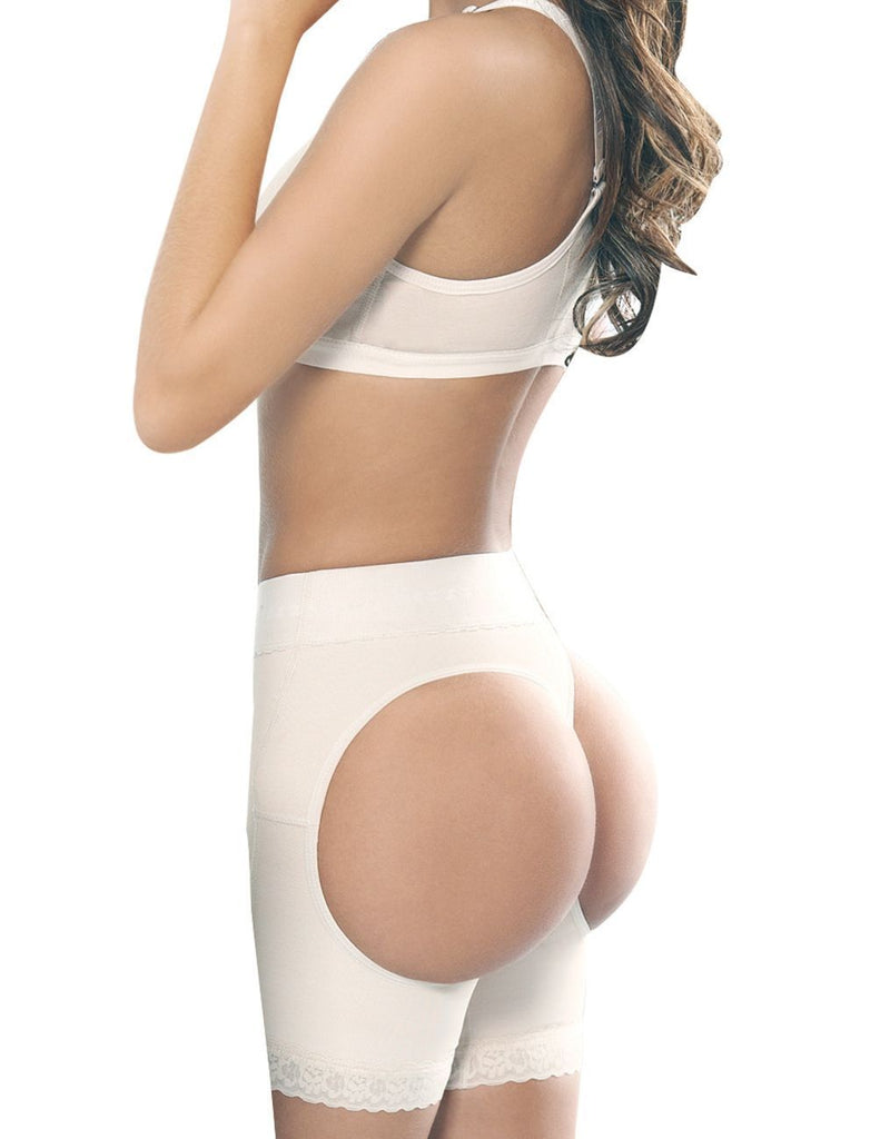Ann Chery 1045 Powernet Body Shaper Amalia Short Color Beige Plus