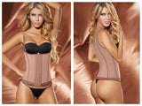 Ann Chery 5173 Powernet Marilyn Shapewear Color Brown Plus
