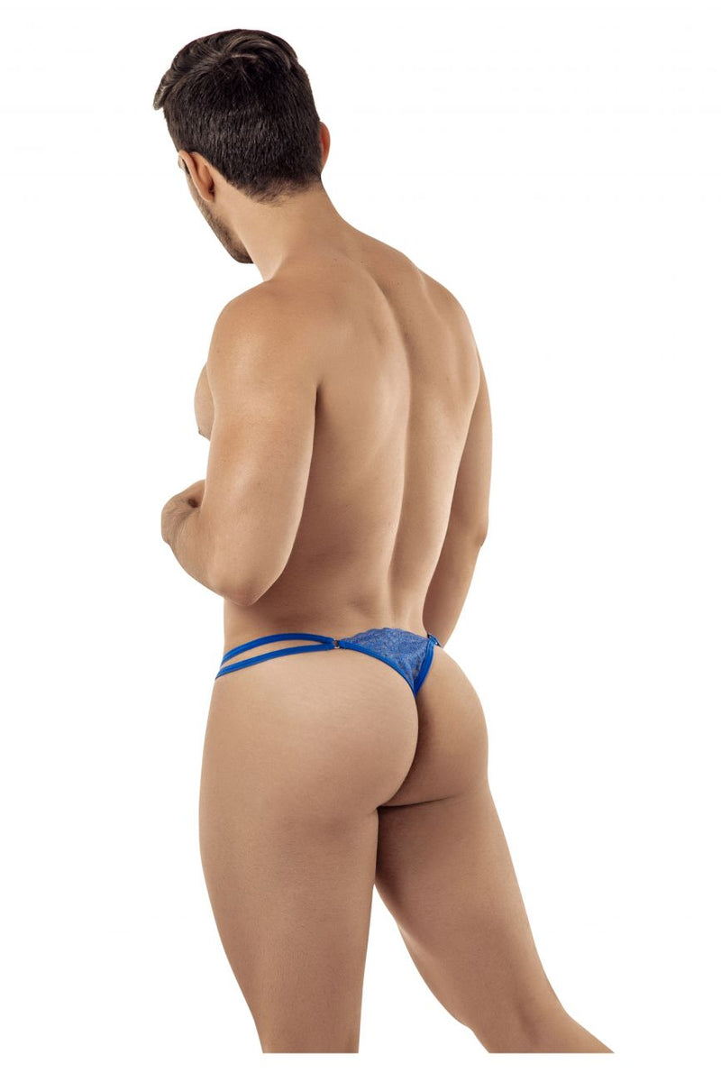 CandyMan 99421 Lace G-String Thongs Color Blue