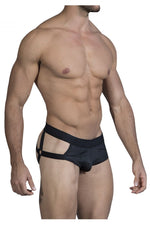 CandyMan 99494 G-String Jockstrap Color Black