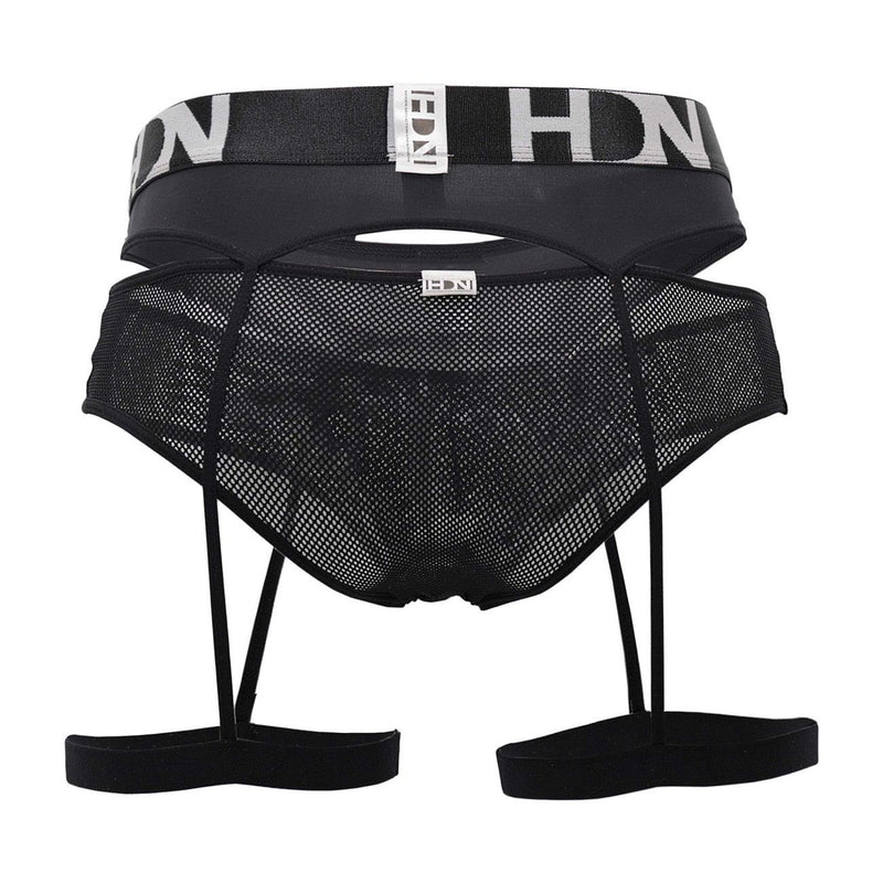 Hidden 953 Garterbelt Briefs Color Black
