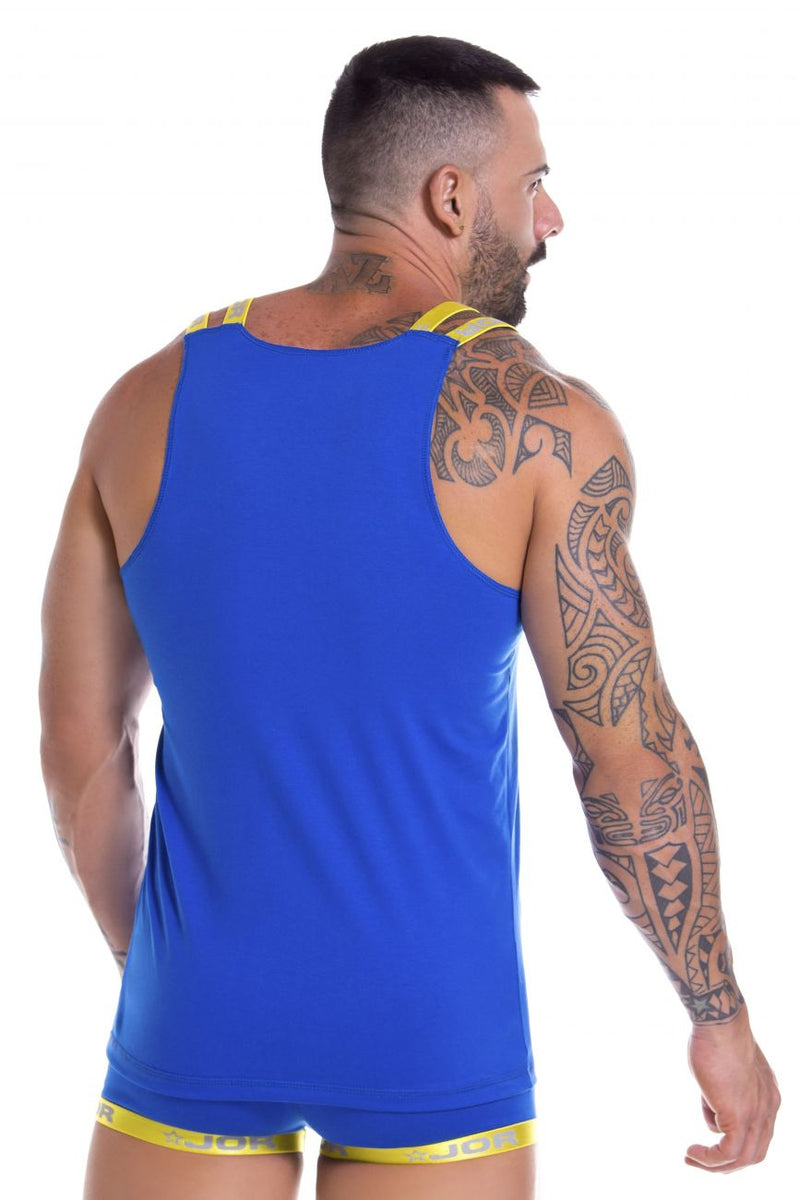 JOR 0854 Power Tank Top Color Royal