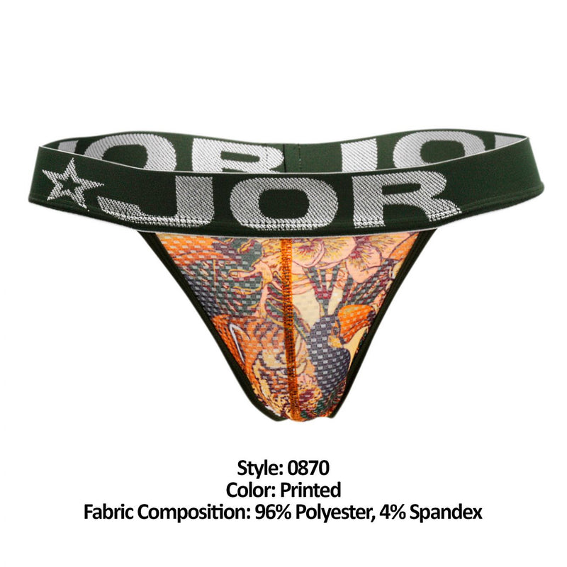 JOR 0870 Bengal Thongs Color Printed