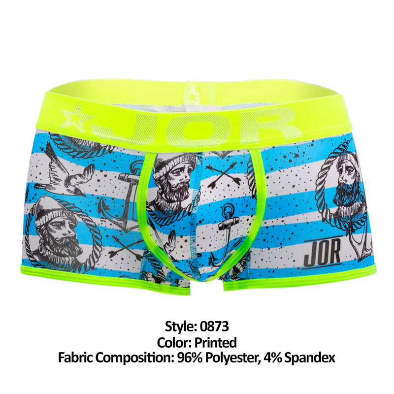 JOR 0873 Captain Boxer Briefs Color Printed