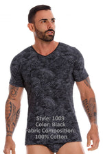 JOR 1009 Birds T-Shirt Color Black