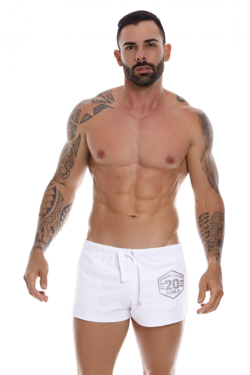 JOR 1070 Enzo Athletic Shorts Color White