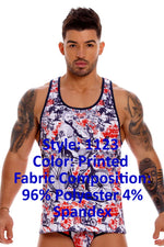 JOR 1123 James Tank Top Color Printed