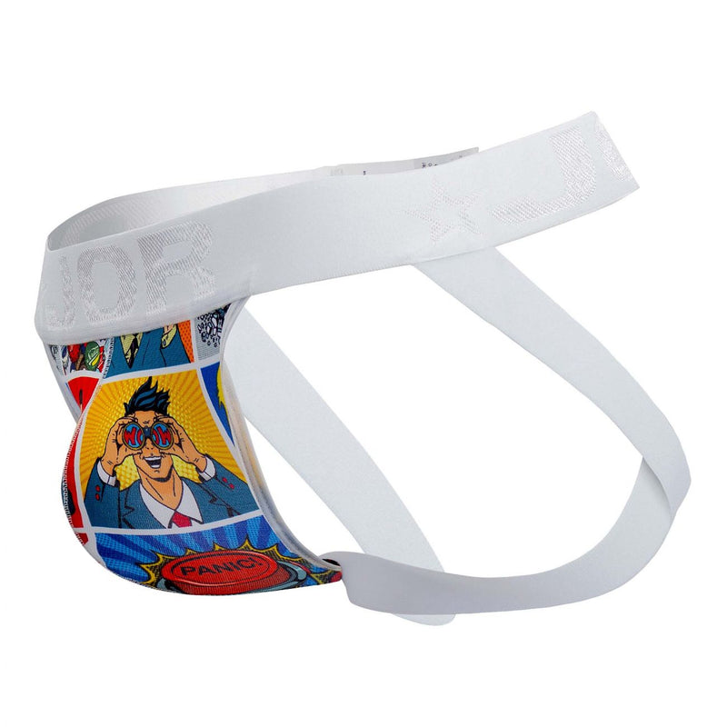 JOR 1133 Comic Jockstrap Color Printed