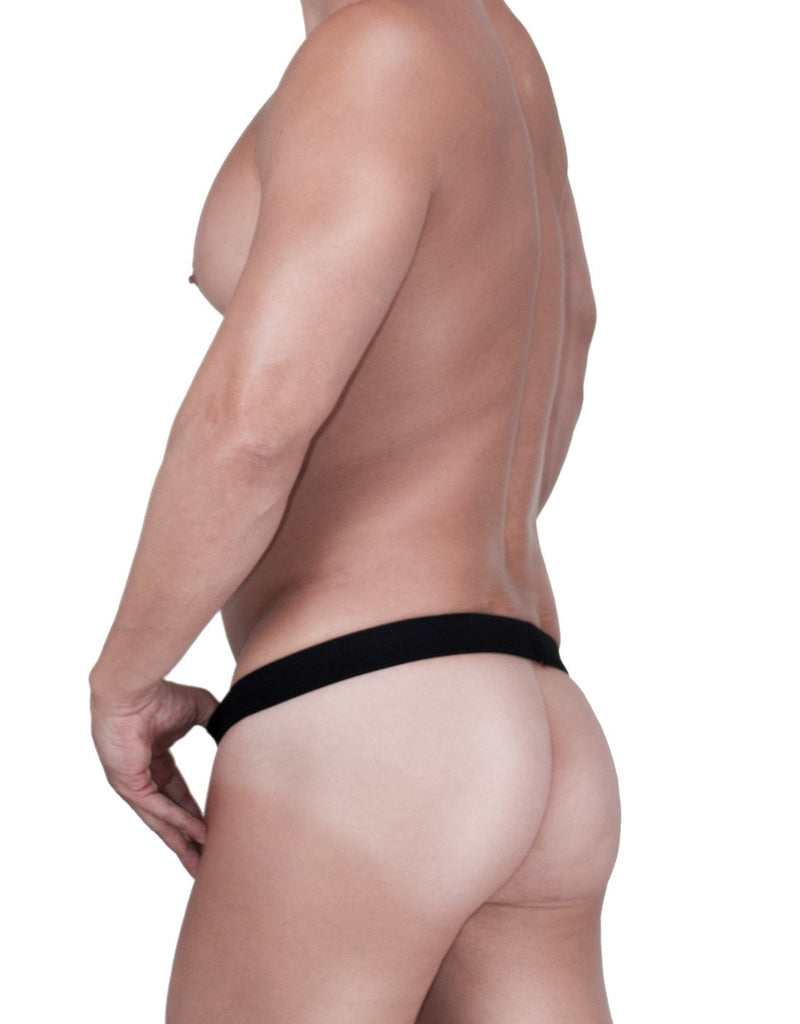 WildmanT Raw Strapless Mesh Jock Black - Big Penis Underwear, WildmanT - WildmanT