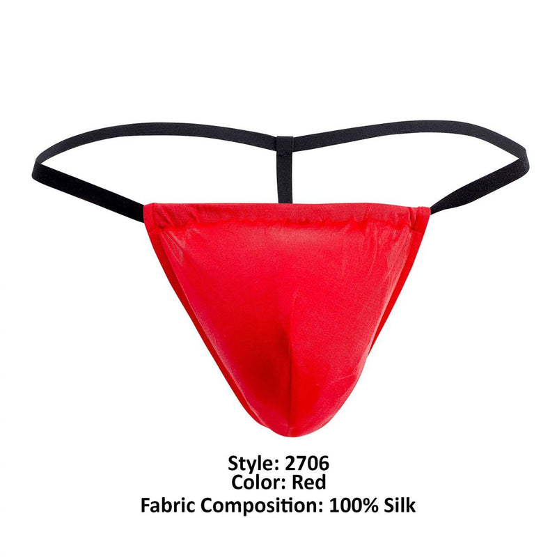 Magic Silk 2706 Silk G-String Color Red