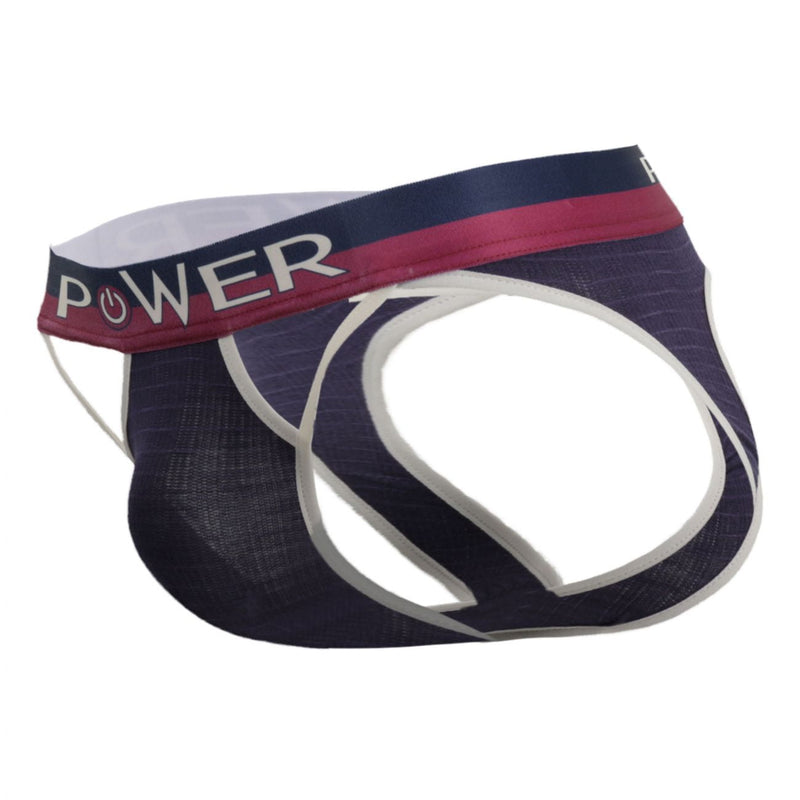 Male Power 302-246 French Terry Cutout Moonshine Color Navy