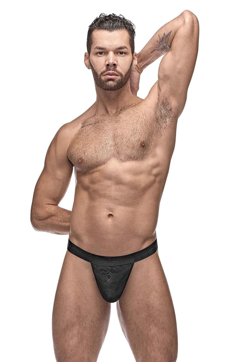 Male Power 454-263 Impressions Micro G-String V Color Black