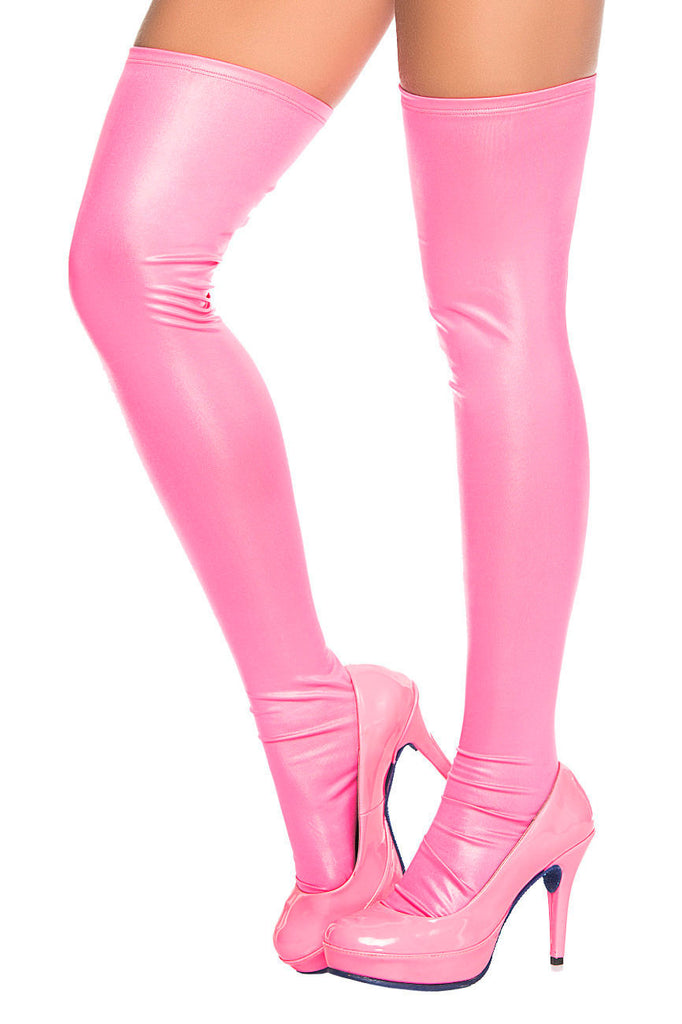 Mapale 1017 Thigh Highs Color Pink