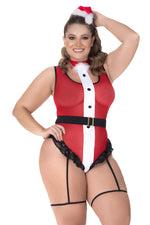 Mapale 6421X Mrs Claus Costume 2PC Color Multi-colored