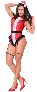 Mapale 6421 Mrs Claus Costume 2PC Color Multi-colored