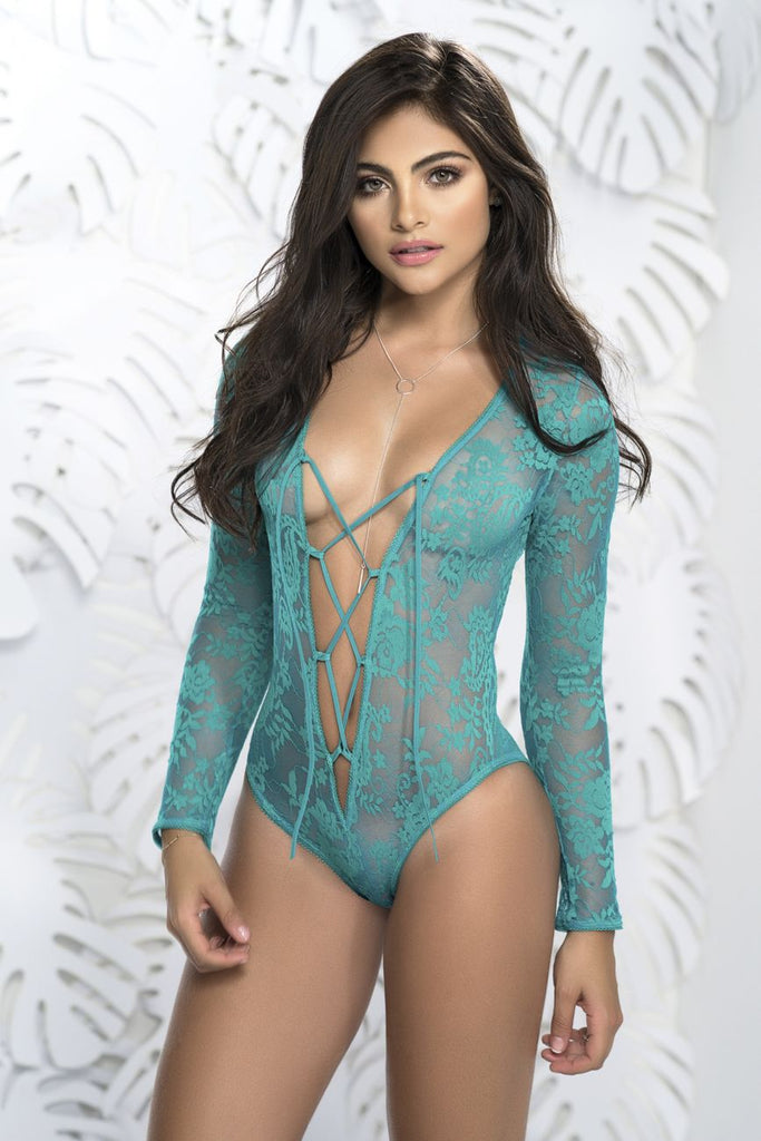 Mapale 7172 Long Sleeve Teddy Color Turquoise