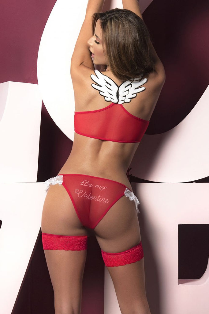 Mapale 8462 Two Piece Set Color Red