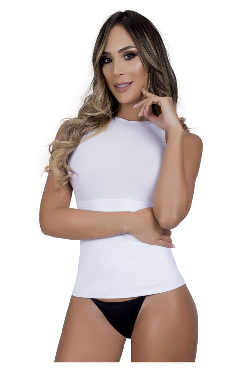 Moldeate 2137 Control Bodysuits Color White
