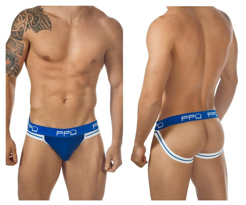 PPU 0965 Jockstrap Color Blue
