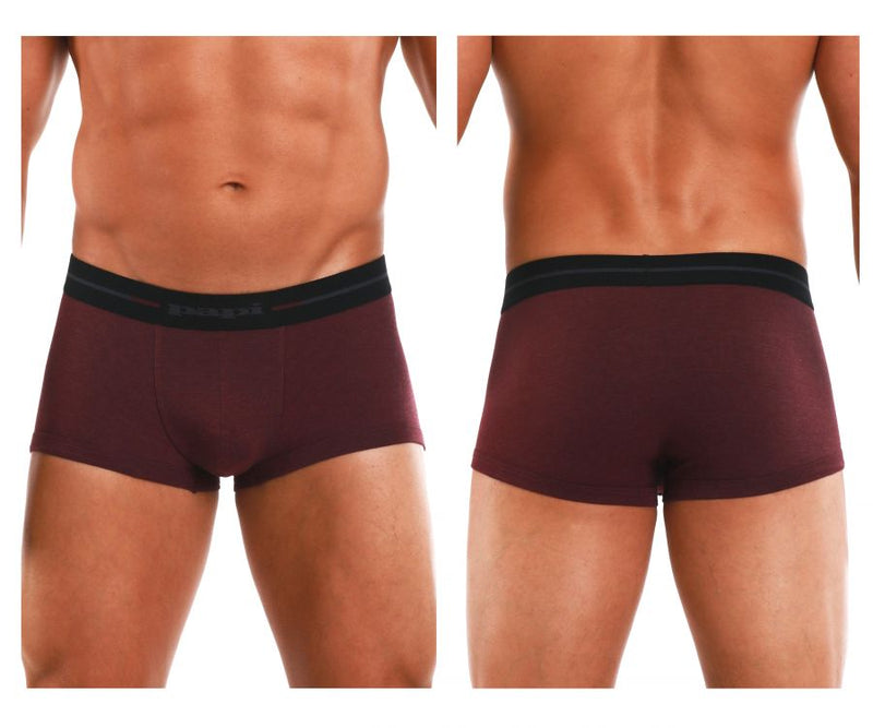 Papi 554568-602 Feel It Brazilian Trunks Color Red