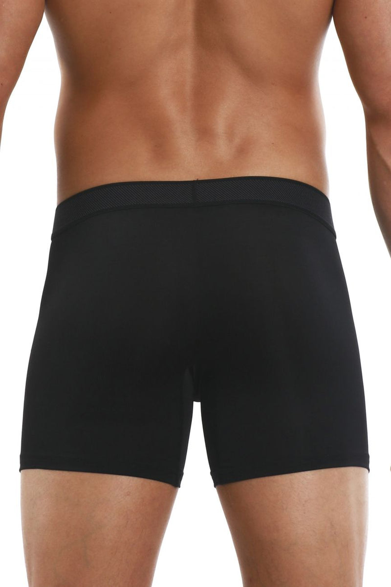 Papi 626185-962 Cool2 2PK Solid Boxer Briefs Color Black-Gray