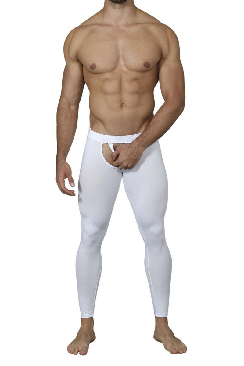 Pikante PIK 0215 Bliss Soho Long Johns Color White
