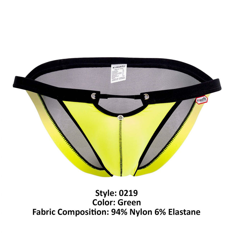 Pikante PIK 0219 Explorers Mesh Bikini Color Green