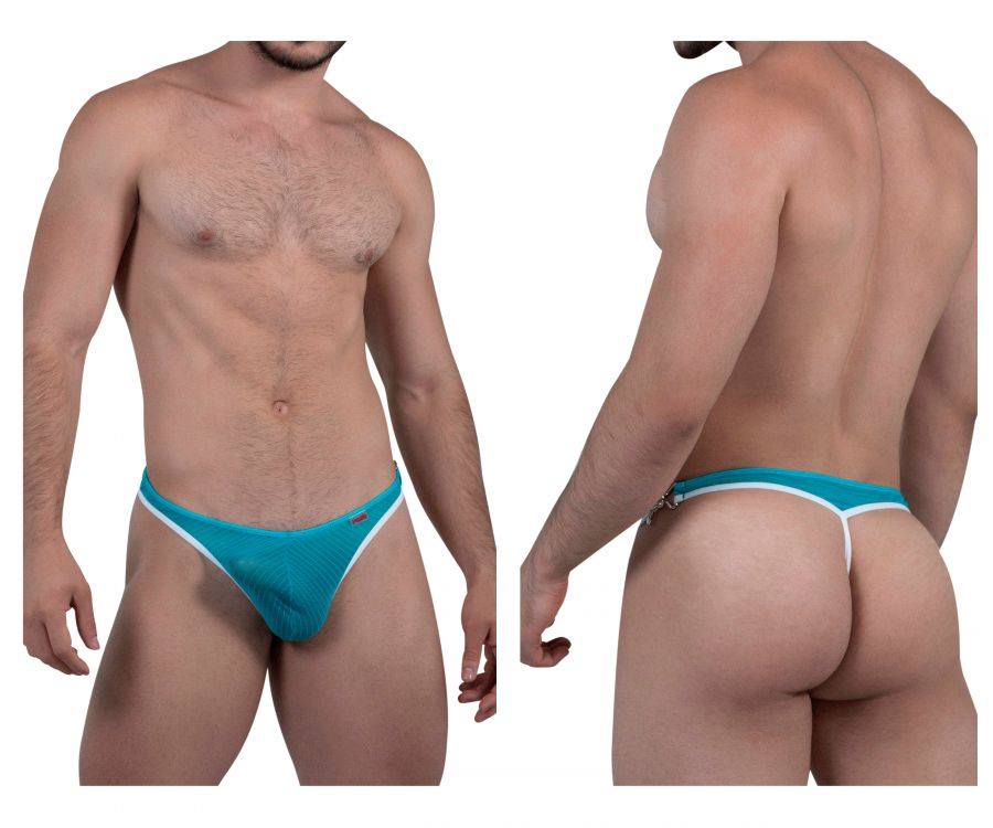 Pikante PIK 8059 Rich Thongs Color Green