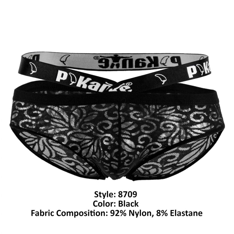 Pikante PIK 8709 Frenzy Briefs Color Black