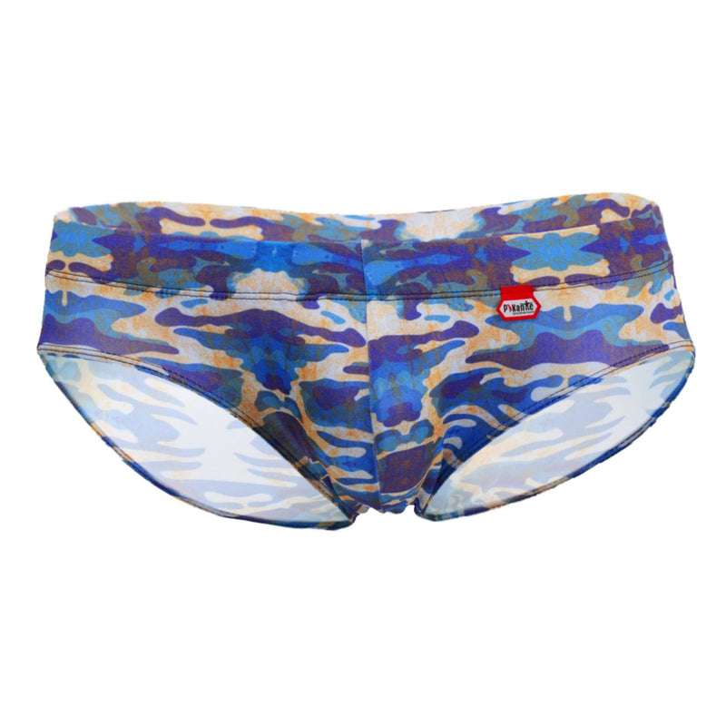 Pikante PIK 8717 Illegal Anatomic Briefs Color Blue