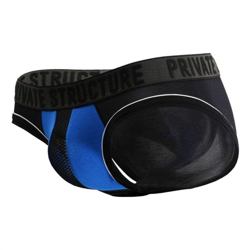 Private Structure PMUZ3784 Platinum Modal Mini Brief Color Royal