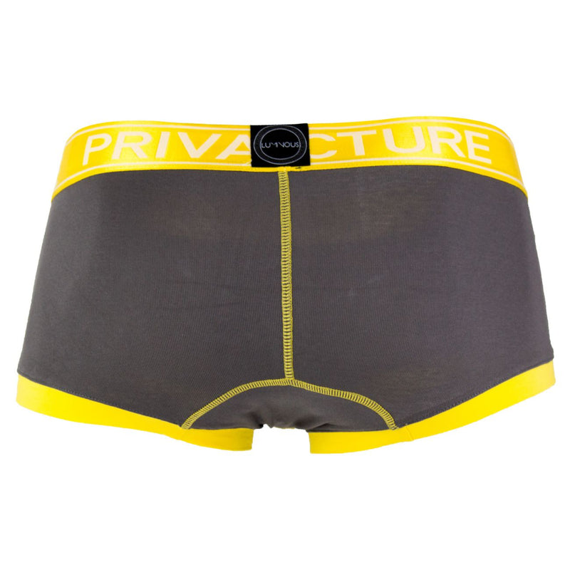 Private Structure SLUZ3680 Soho Luminous Boxer Briefs Color Sunny