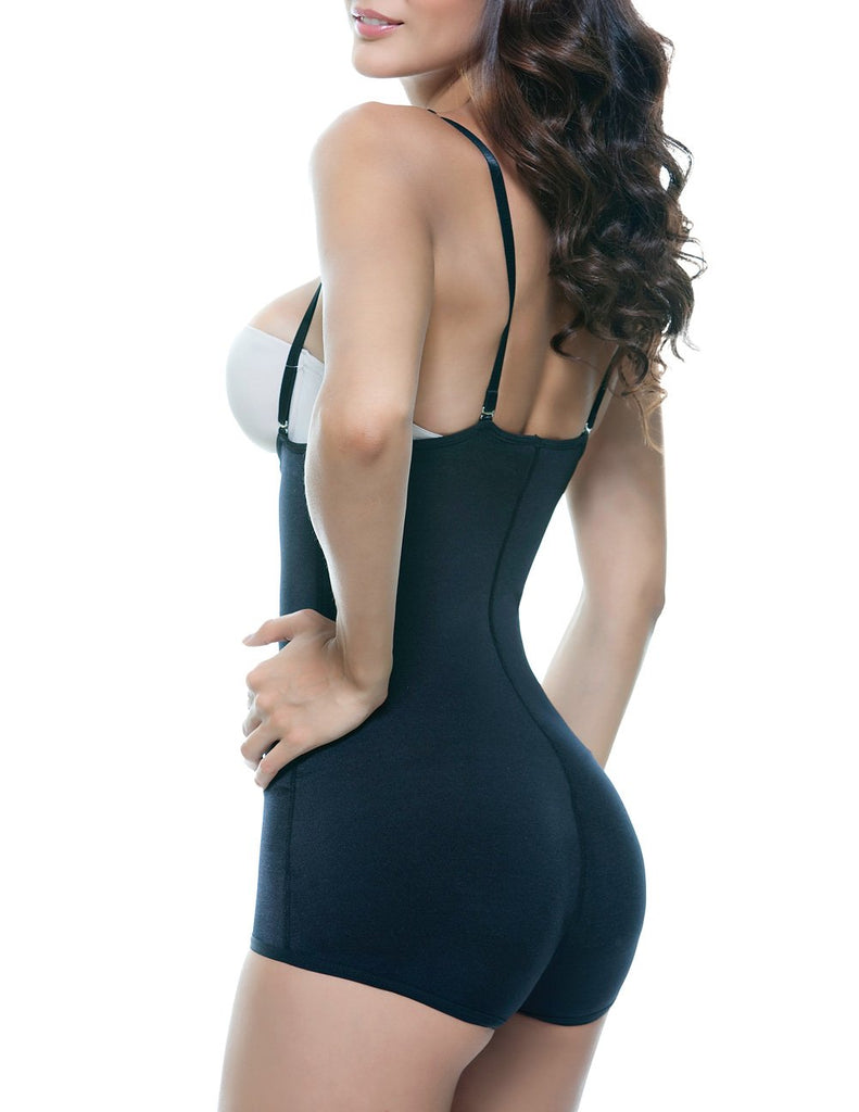 Vedette 123 Lillian Strapless Body Shaper  Color Black